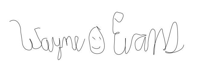 woe signature small